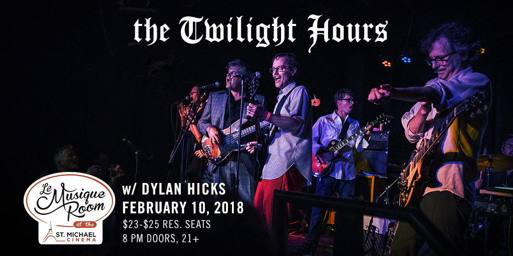 The Twilight Hours at Le Musique Room in St. Michael, MN feb 10, 2018